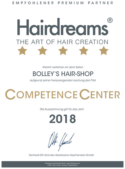 CompetenceCenter 2018 BOLLEY'S HAIR SHOP