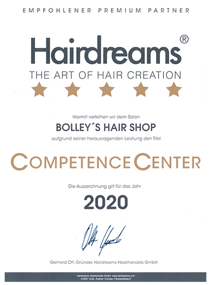 CompetenceCenter 2020 BOLLEY'S HAIR SHOP